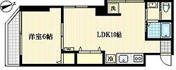 神奈川県川崎市川崎区藤崎4丁目の賃貸マンションの間取り