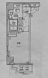 グリフィン横浜セントラルステージ[1101号室]の間取り