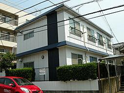 愛知県名古屋市名東区一社2丁目の賃貸アパートの外観