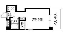 ファミーユ甲子園[205号室]の間取り