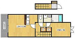 仮)東合川町新築AP[2階]の間取り