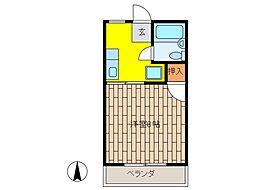 日新Mハイム[1階]の間取り