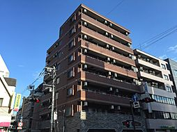 神奈川県川崎市中原区新丸子東2丁目の賃貸マンションの外観