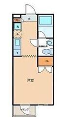 東京都北区赤羽南2丁目の賃貸マンションの間取り