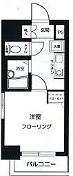 東京都新宿区下落合2丁目の賃貸マンションの間取り