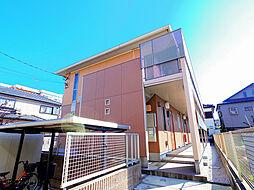 埼玉県志木市中宗岡4丁目の賃貸アパートの外観