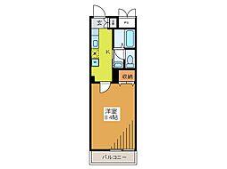 リリsマンション[2階]の間取り