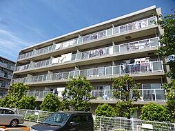 千葉県松戸市常盤平陣屋前の賃貸マンションの外観
