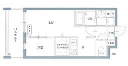 リアンレガーロ井尻ステーションII[4階]の間取り