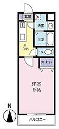 高御所ロイヤルマンション[4階]の間取り