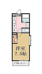 Flora Palace[1階]の間取り