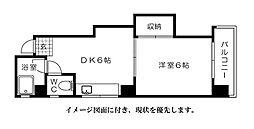 第3片山ビル[304号室]の間取り