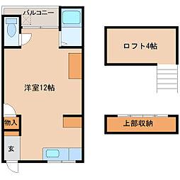 兵庫県尼崎市小中島3丁目の賃貸マンションの間取り