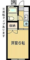 サンパークNAKAJIMA[104号室]の間取り