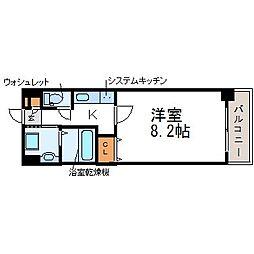 アトール尼崎[2階]の間取り
