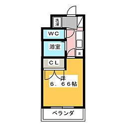 グランフォルム[5階]の間取り