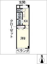 Printemps[3階]の間取り