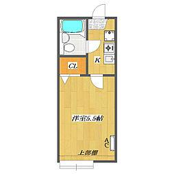 Sunny Court 〜Kitakasai〜[A209号室]の間取り