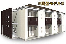 長野県松本市白板1丁目の賃貸アパートの外観