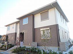 大阪府茨木市彩都やまぶき4丁目の賃貸アパートの外観