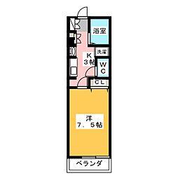 北野駅 4.5万円