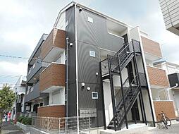 アパートメント新小岩A棟[3階]の外観