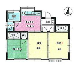 [一戸建] 埼玉県上尾市小泉6丁目 の賃貸【/】の間取り