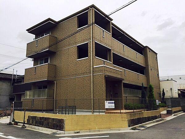 兵庫県尼崎市杭瀬南新町1丁目の賃貸アパートの外観