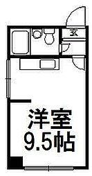 北海道札幌市豊平区美園四条2丁目の賃貸マンションの間取り