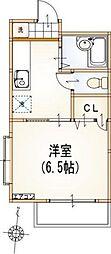 東京都武蔵野市吉祥寺南町5丁目の賃貸アパートの間取り