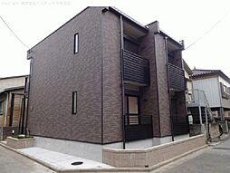 埼玉県川口市西川口の賃貸アパートの外観
