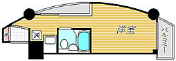 キャッスルマンション曳舟[6階]の間取り
