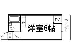 コーポ弘和[3階]の間取り
