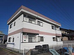 山梨県甲府市増坪町の賃貸アパートの外観