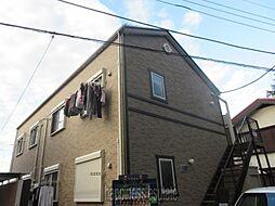 東京都町田市玉川学園6丁目の賃貸アパートの外観