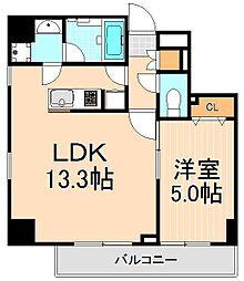 プライムコート浅草[2階]の間取り