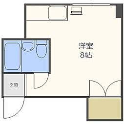 北海道札幌市東区北十五条東6丁目の賃貸マンションの間取り