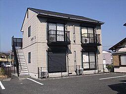 静岡県富士市岩本の賃貸アパートの外観