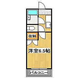 メゾン桃栄II[208号室]の間取り