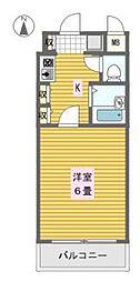 エステムコート大阪城南[8階]の間取り