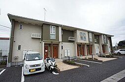 千葉県柏市大井の賃貸アパートの外観