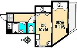 小田マンション[301号室]の間取り