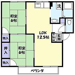 セジュールi[A202号室]の間取り