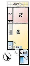 第3明智ビル[4階]の間取り
