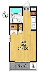 エスポワール21[4階]の間取り