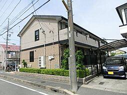 愛知県あま市本郷郷中の賃貸アパートの外観