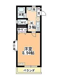 グランノーヴァ[2階]の間取り