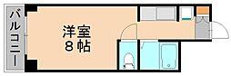 ウーブル博多[7階]の間取り