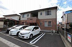 福岡県古賀市花見東2丁目の賃貸アパートの外観