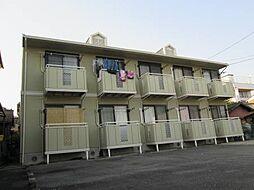愛知県名古屋市北区東味鋺1丁目の賃貸アパートの外観